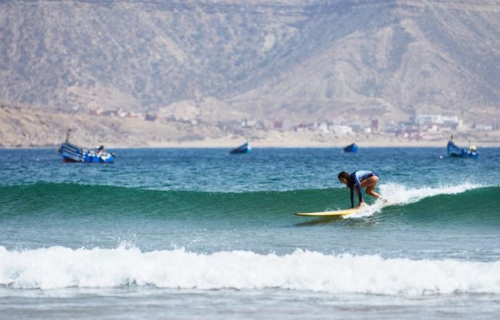 activités de surf à Agadir.