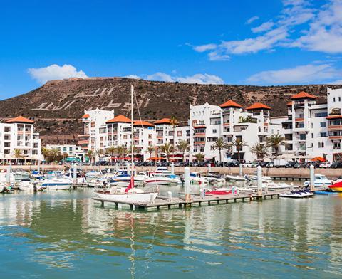 la ville d'Agadir