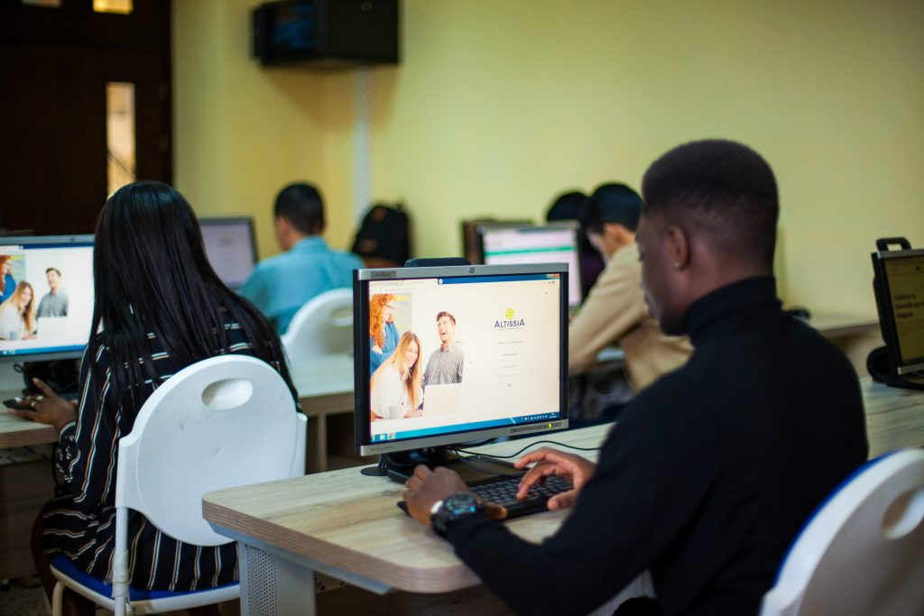 la plateforme e-learning ALTISSIA.