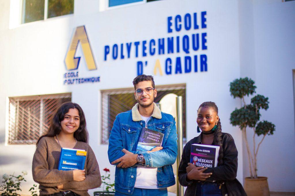 école polytechnique d'Agadir.