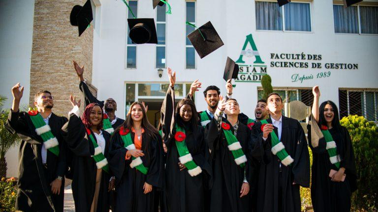 des lauréats d'ISIAM-Agadir,Universiapolis.